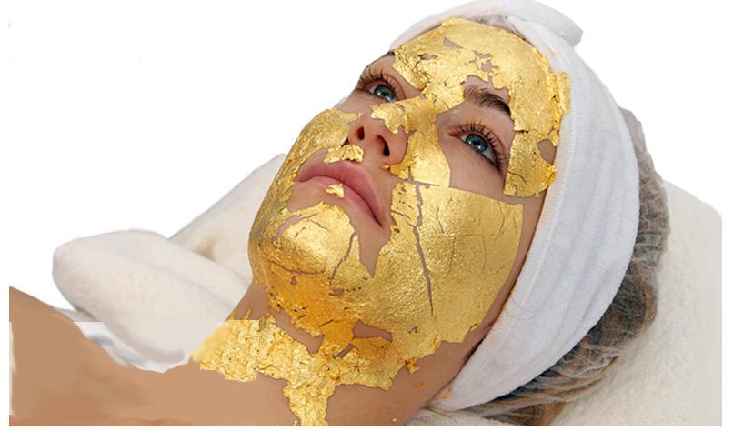 Golden line face treatment